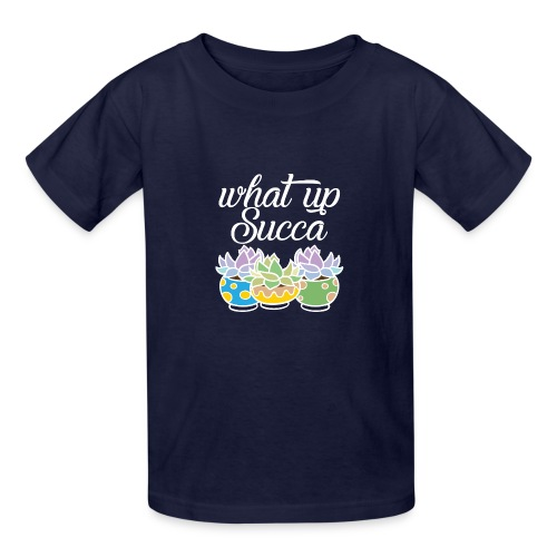 What Up Succa - Kids' T-Shirt