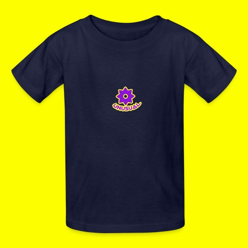 Ususual flower logo - Kids' T-Shirt