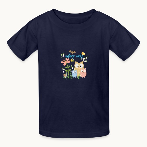 NATURE ROCKS CHILDREN Carolyn Sandstrom THR - Kids' T-Shirt