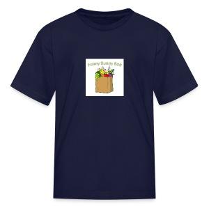 Funny Bunny Bob - Kids' T-Shirt