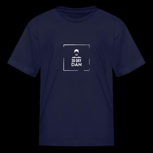 35DD Male White - Kids' T-Shirt