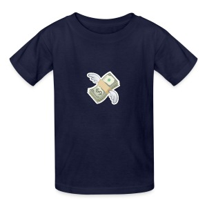 Money With Wings - Kids' T-Shirt