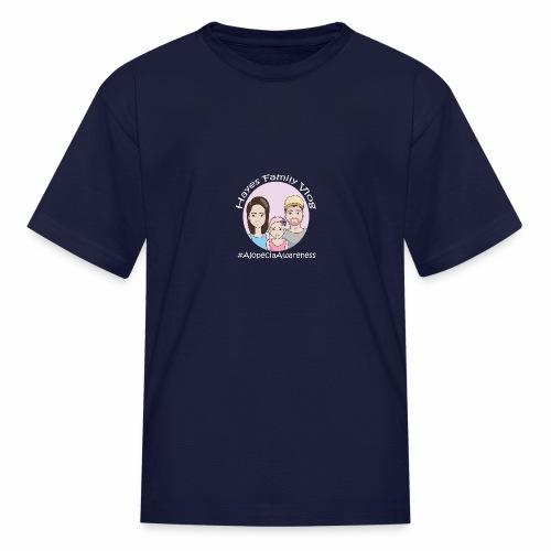 Hayes Family Vlog - Kids' T-Shirt