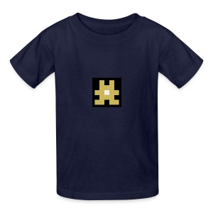 YELLOW hashtag - Kids' T-Shirt
