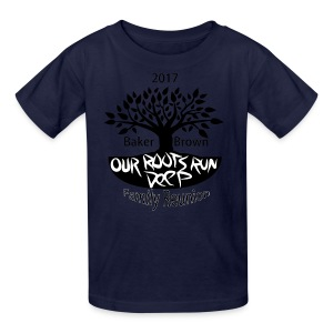 Baker Brown Family Reunion - Kids' T-Shirt