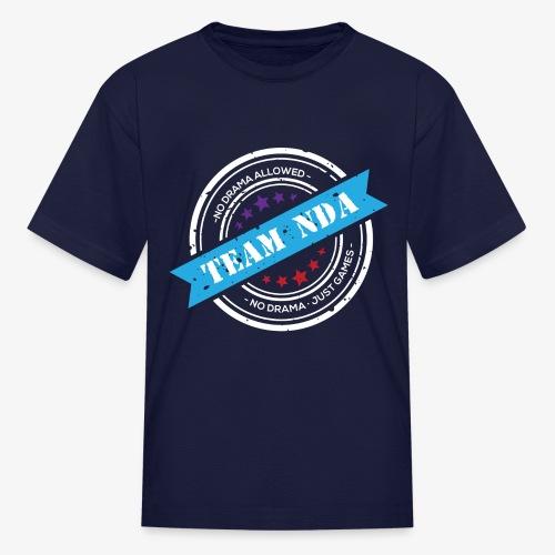 TeamNDA_White - Kids' T-Shirt