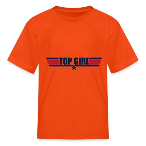 Top Girl - Kids' T-Shirt