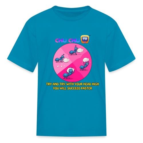 Motivational Slogan12 - Kids' T-Shirt