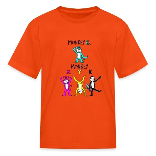 monkey see myk - Kids' T-Shirt