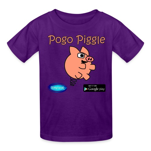 Pogo Piggle - Kids' T-Shirt