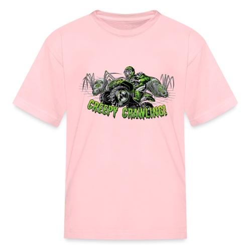 Creepy Crawling ATV - Kids' T-Shirt