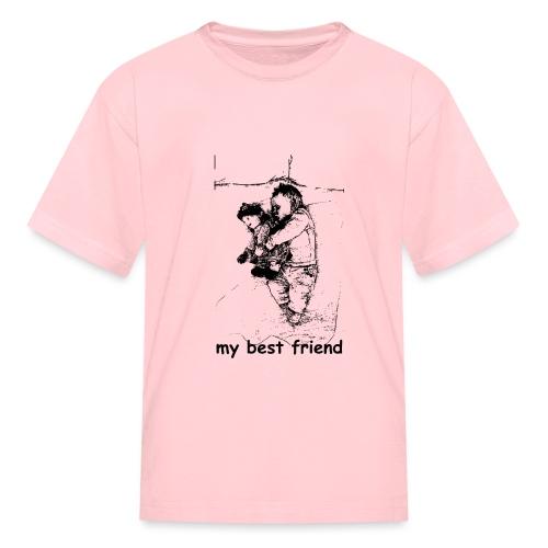 My Best Friend (baby) - Kids' T-Shirt