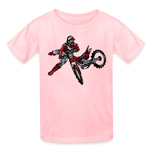 Freestyle Dirt Biker - Kids' T-Shirt