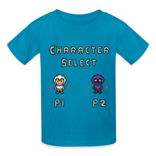 Character Select - Kids' T-Shirt