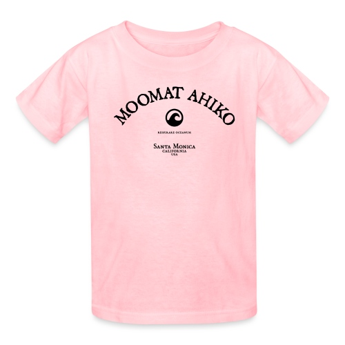 Moomat Ahiko classic black 1 - Kids' T-Shirt