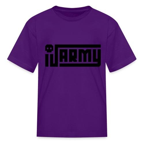 iJustine - iJ Army Logo - Kids' T-Shirt