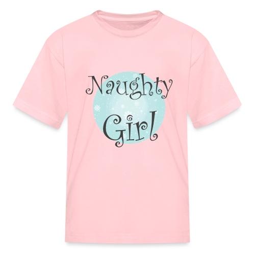 Naughty Girl 01 - Kids' T-Shirt