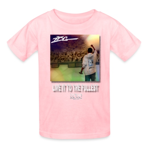 ww live it to the fullest cd tshirt - Kids' T-Shirt