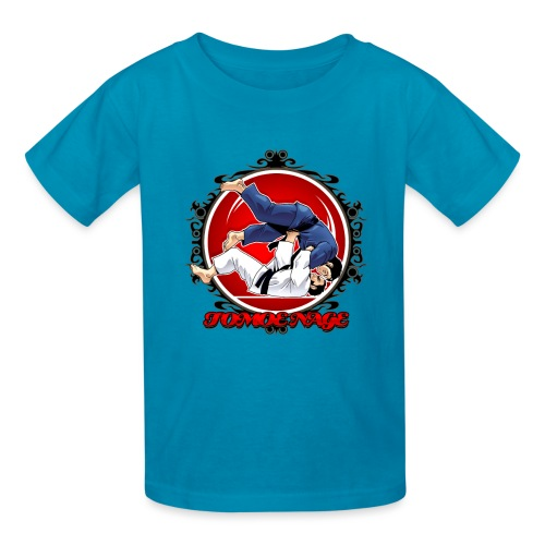 Judo Throw Tomoe Nage - Kids' T-Shirt