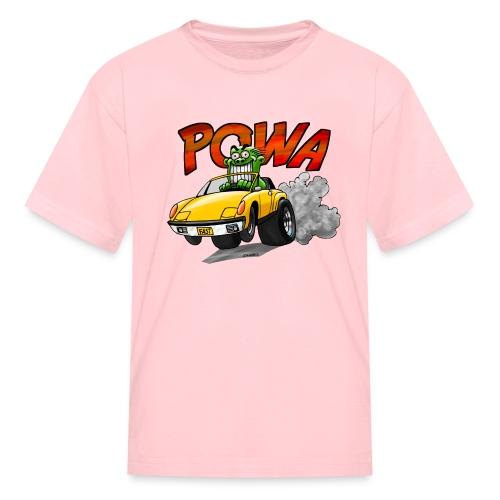 Powa Sportscar - Kids' T-Shirt