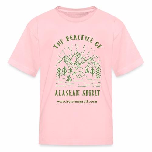 Alaskan Spirit green - Kids' T-Shirt