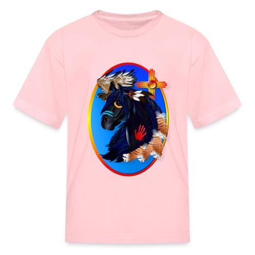 Black Stallion of Morning - Kids' T-Shirt