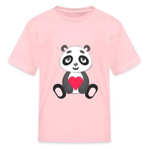 Sweetheart Panda - Kids' T-Shirt