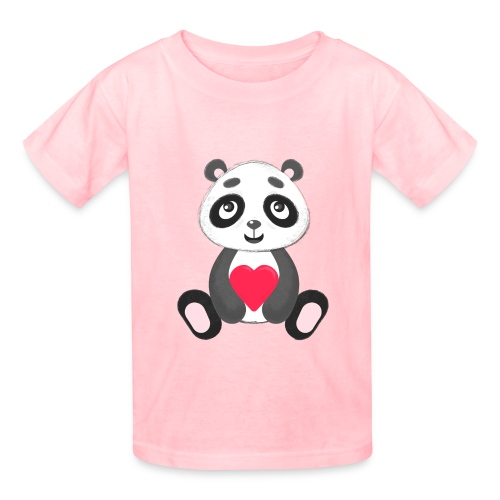 Sweetheart Panda - Kids' T-Shirt
