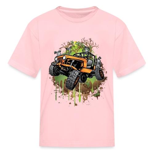 Jeep Halloween Zombie - Kids' T-Shirt