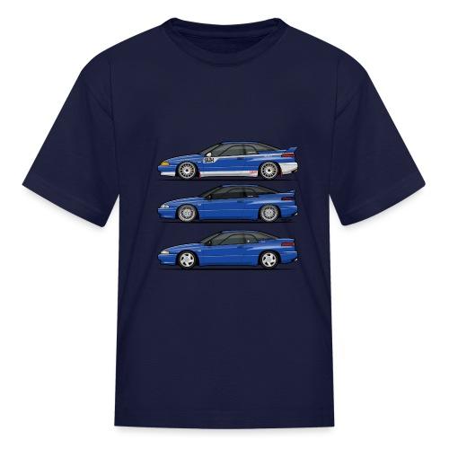 Subie Alcyone SVX Laguna Blue Pearl Trio - Kids' T-Shirt