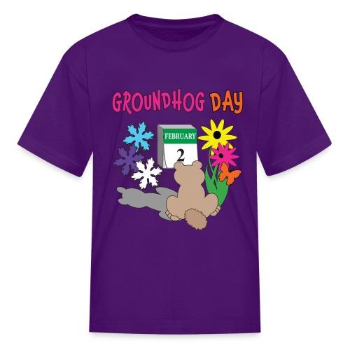 Groundhog Day Dilemma - Kids' T-Shirt