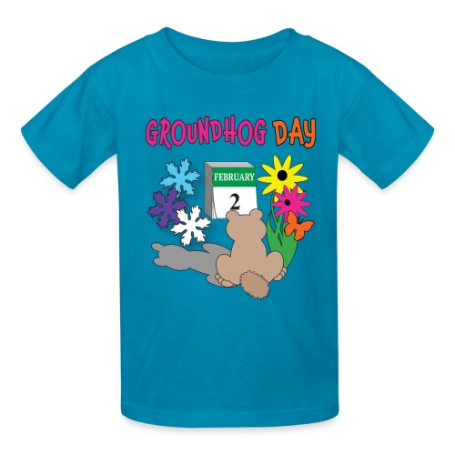 Groundhog Day Dilemma - Kids' T-Shirt