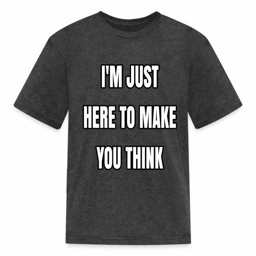 IJHTMYT (White Font) - Kids' T-Shirt