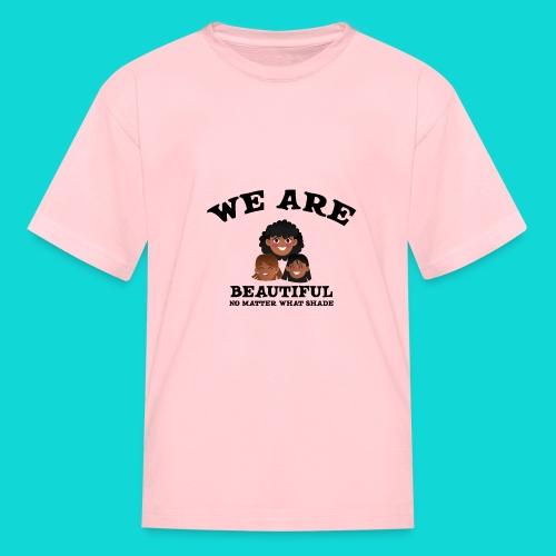 You are Beautiful Black Woman - Kids' T-Shirt