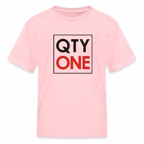QTYONE Logo - Kids' T-Shirt