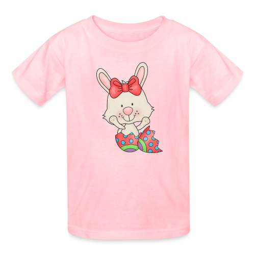 Easter Egg Bunny 6 png - Kids' T-Shirt