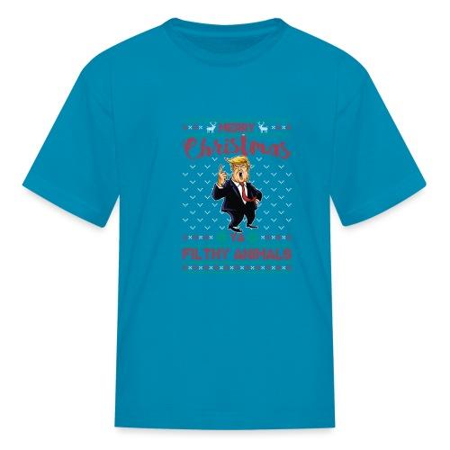 MEERRY CHRISTMAS YA FILTHY ANIMALS - Kids' T-Shirt