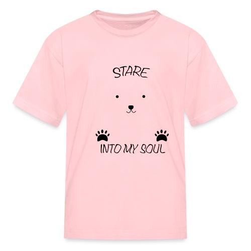 Polar Bear Stare - Kids' T-Shirt