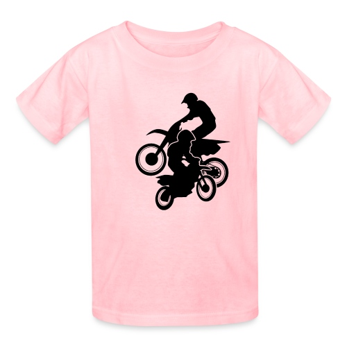 Motocross Dirt Bikes Off-road Motorcycle Racing - Kids' T-Shirt