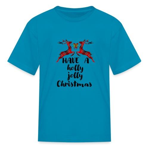Holly Jolly Christmas - Kids' T-Shirt