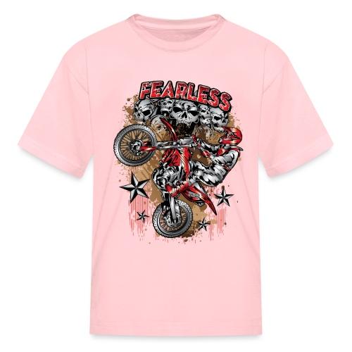 Fearless Motocross Honda - Kids' T-Shirt
