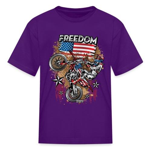 Motocross USA - Kids' T-Shirt