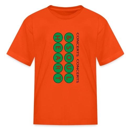 Heart & Soul Concerts Money Green - Kids' T-Shirt