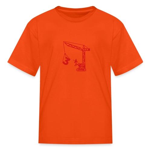 Robot Crane - Kids' T-Shirt