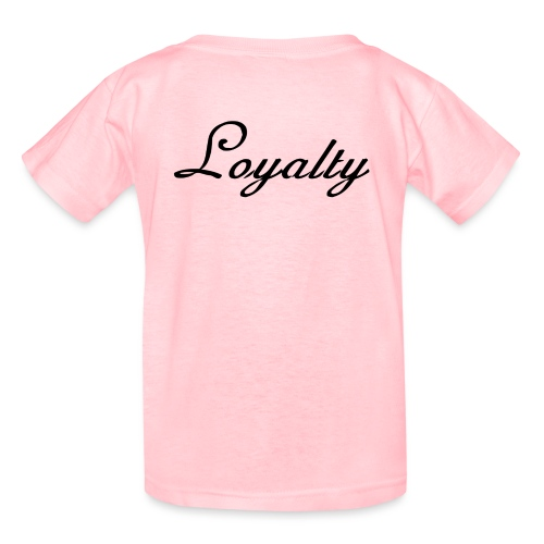 Loyalty Brand Items - Black Color - Kids' T-Shirt