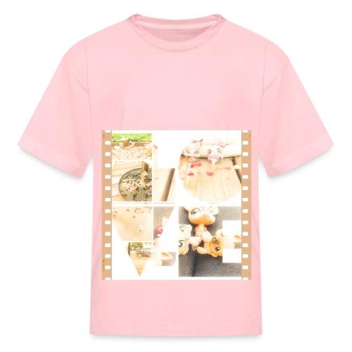LOVE shirt print - Kids' T-Shirt