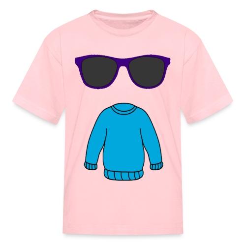 sweater glasses - Kids' T-Shirt