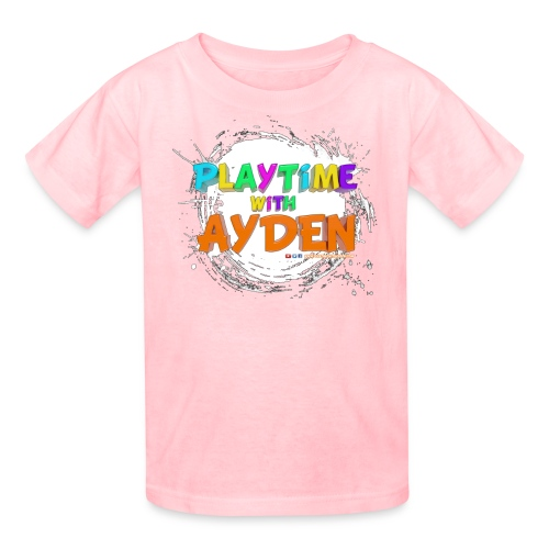 Playtime with Ayden - 1st edition - Red T-shirt - Kids' T-Shirt