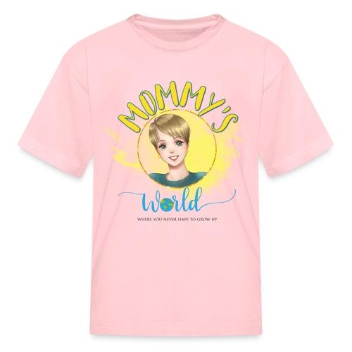 Mommys World Main Logo - Kids' T-Shirt