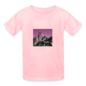 Pink Forest Gart - Kids' T-Shirt